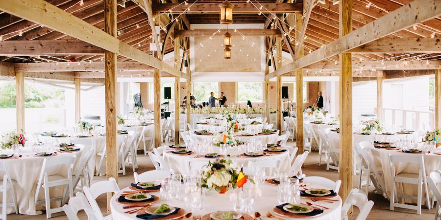 Thompson Island Conference Center wedding Boston