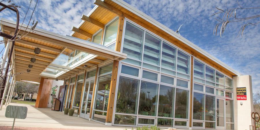 Plano Environmental Education Center wedding Dallas
