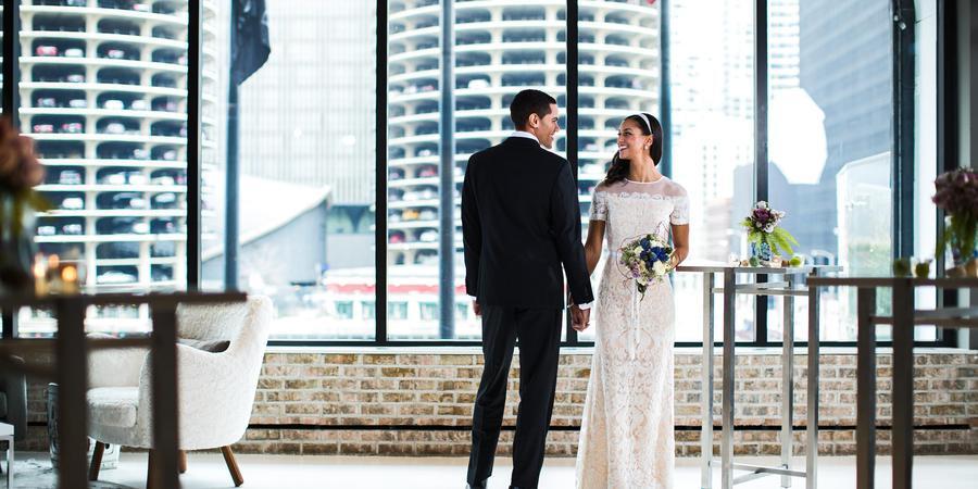 Renaissance Chicago Downtown Hotel wedding Chicago