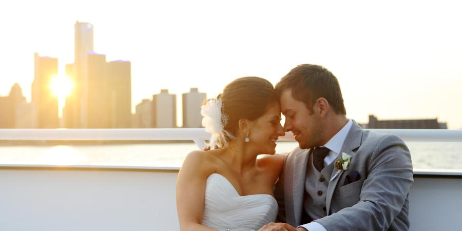 Infinity And Ovation Yacht Charters wedding Detroit