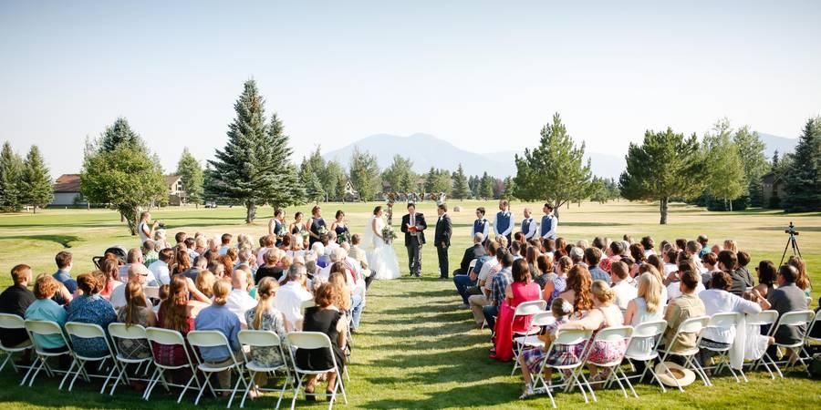 Red Lodge Mountain Golf Course wedding Montana