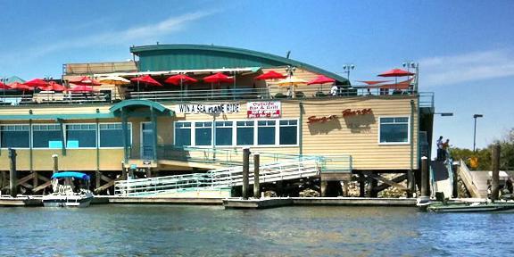 Sugar Barge RV Resort & Marina wedding East Bay