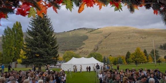 University of Montana wedding Montana