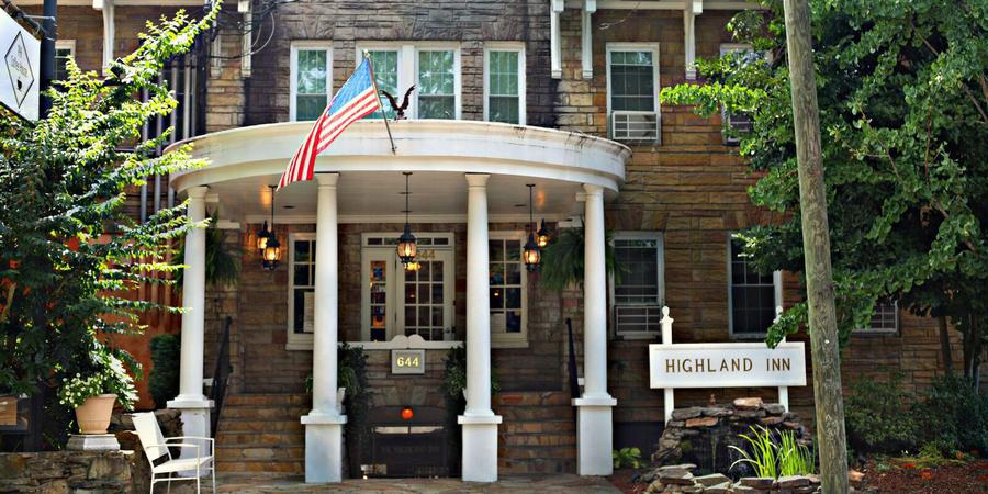 The Highland Inn Ballroom Lounge wedding Atlanta