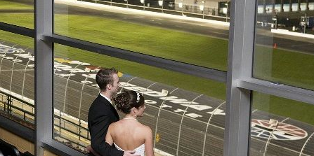 The Speedway Club at Charlotte Motor Speedway wedding Charlotte