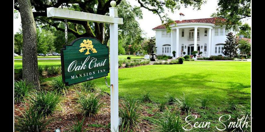 Oak Crest Mansion wedding Mississippi