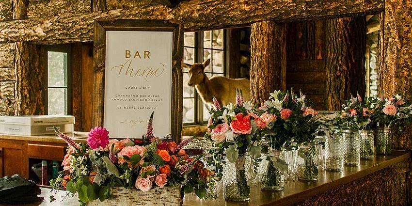 Union Pacific Dining Lodge wedding Montana