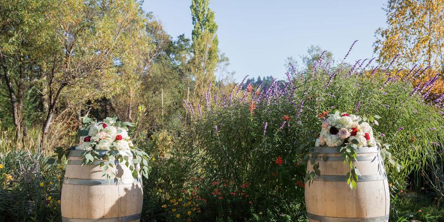 Hans Fahden Vineyards wedding Napa/Sonoma