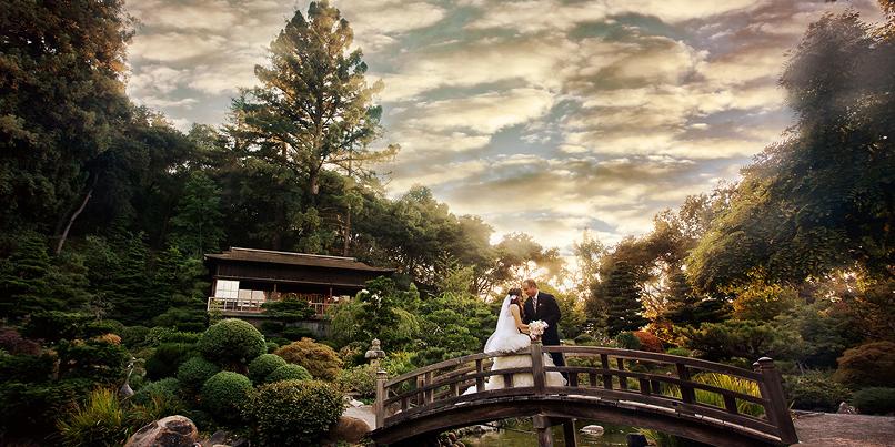 Hakone Estate and Gardens wedding South Bay