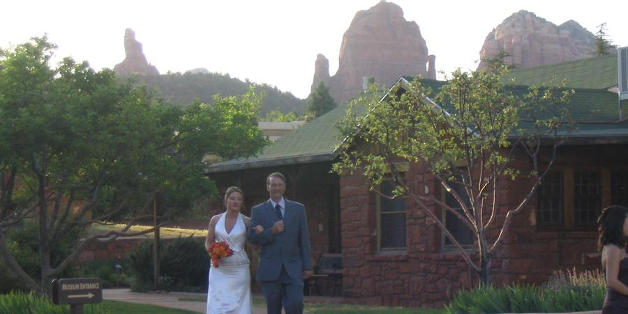 Sedona Heritage Museum wedding Sedona/Flagstaff