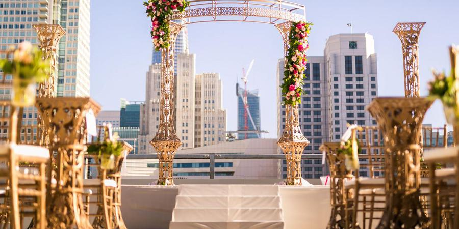 City View at Metreon wedding San Francisco