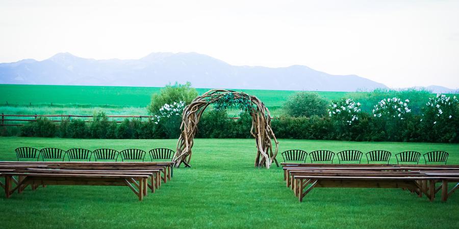 Rockin' TJ Ranch wedding Montana
