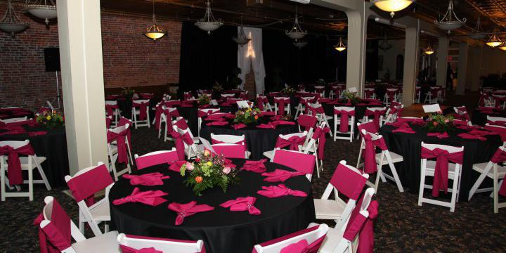 The Ramsay Event Center wedding Springfield