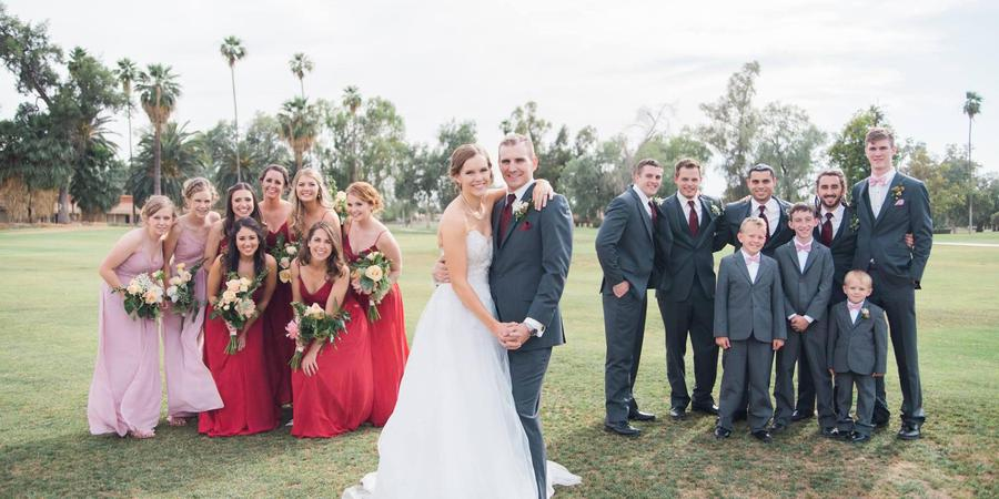 San Marcos Golf Resort wedding Phoenix/Scottsdale