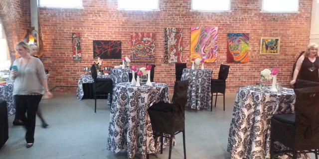 Bisong Art Gallery wedding Houston