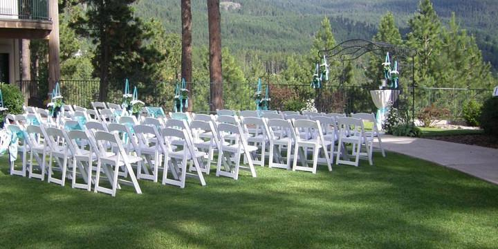 Mountain Lake Lodge wedding Montana