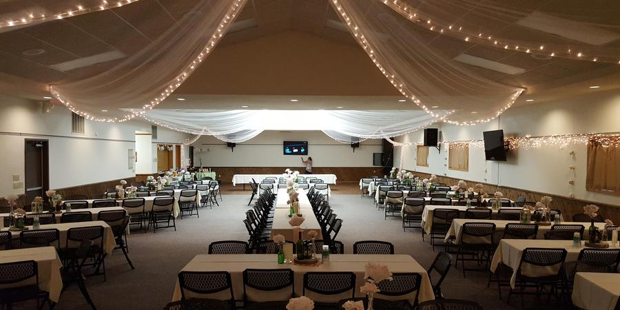 Nisswa Community Center wedding Minnesota