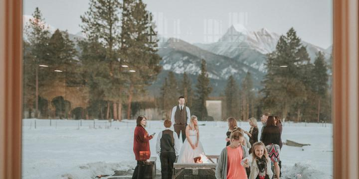 The Silver Knot wedding Montana
