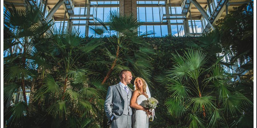 The Jewel Box wedding St. Louis