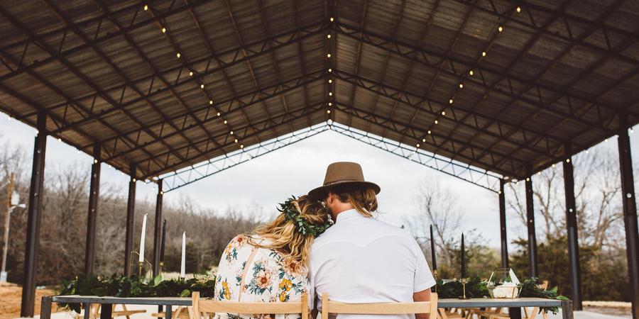 The Co-op at the Stewart Settlement wedding Springfield