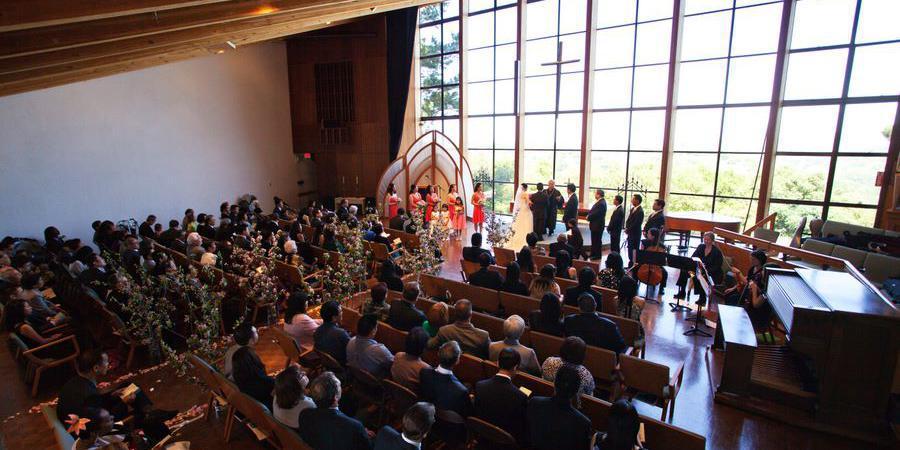 Skyline Church wedding East Bay