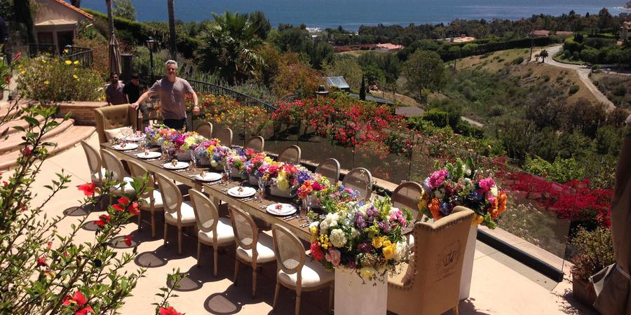 Malibu Villa Skyletta wedding Los Angeles