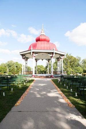 Tower Grove Park wedding St. Louis