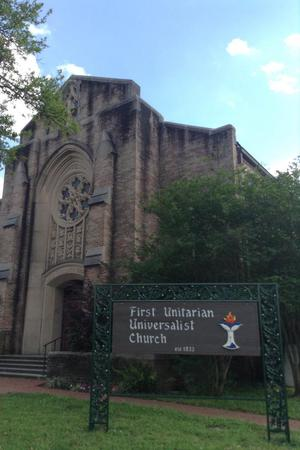 First Unitarian Universalist Church wedding New Orleans