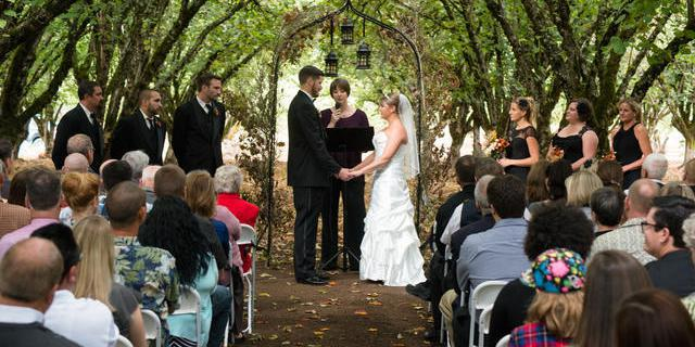 Along Came Trudy wedding Willamette Valley