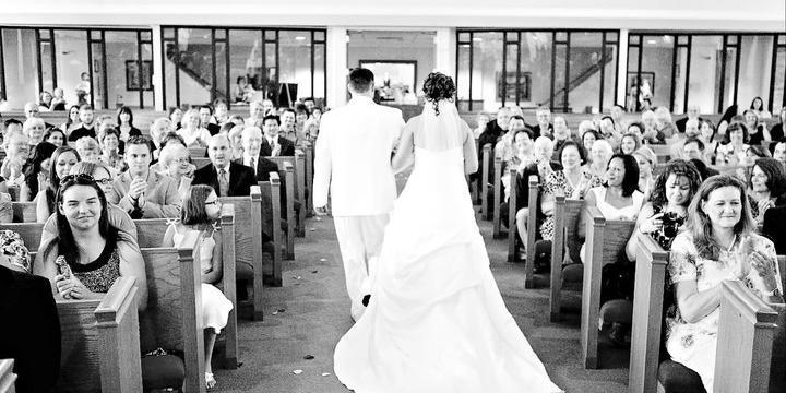 First Christian Church of Plano wedding Dallas