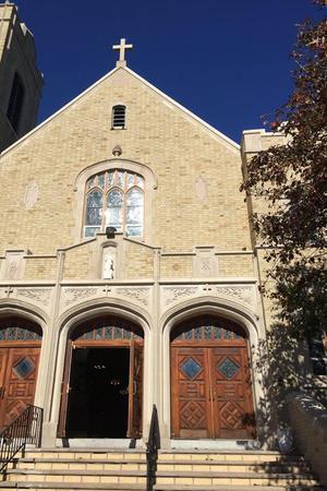 St. Mary's Church Pompton Lakes wedding North Jersey