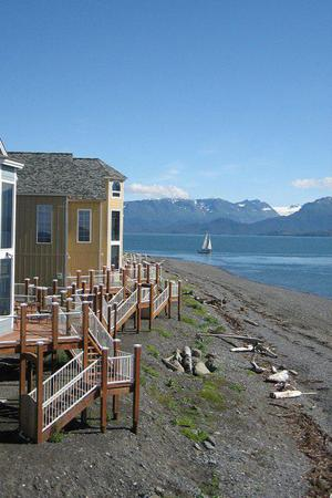 Land's End Resort wedding Alaska