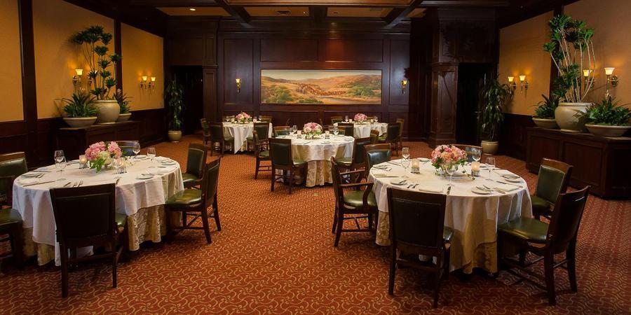 Harris' The San Francisco Steak Restaurant wedding San Francisco