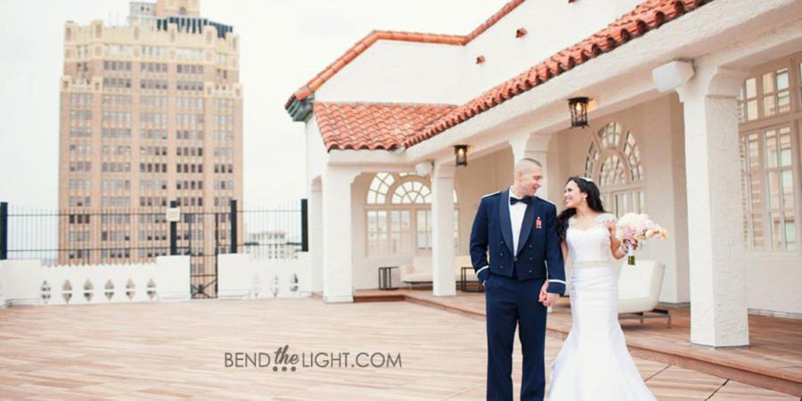 The St. Anthony wedding San Antonio
