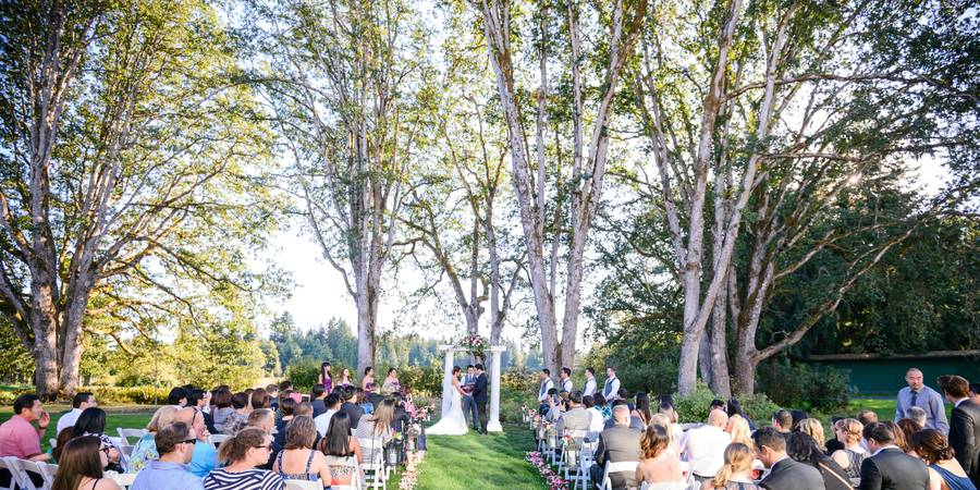 Indian Summer Golf & Country Club wedding Tacoma