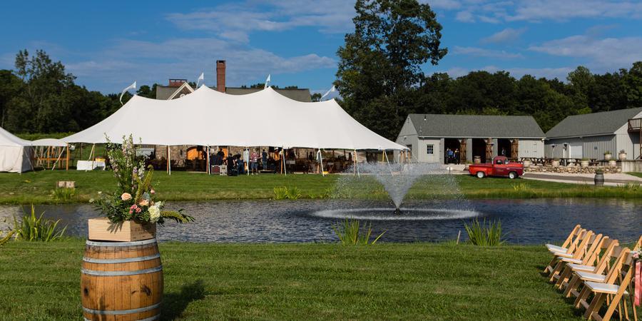 Chamard Vineyards wedding New Haven