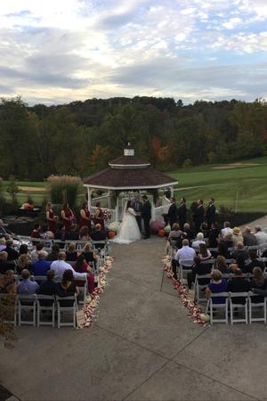 Aston Oaks Golf Club wedding Cincinnati