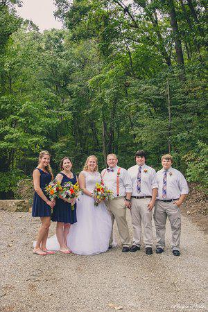 Charles Alley Nature Park wedding Columbus