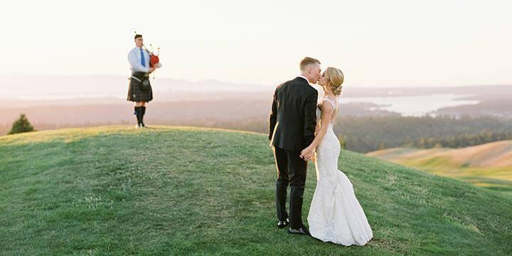 The Golf Club at Newcastle wedding Seattle