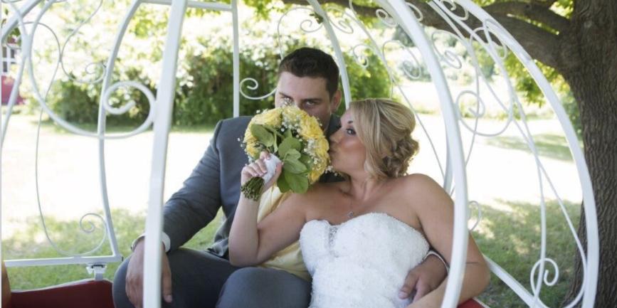 Cindyrella's Garden wedding Minnesota