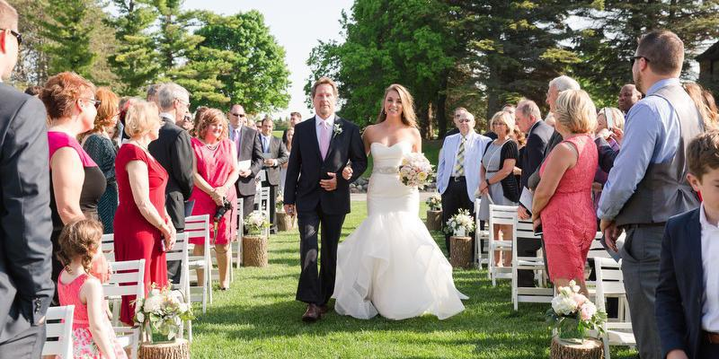 Pine Hills Country Club wedding Green Bay