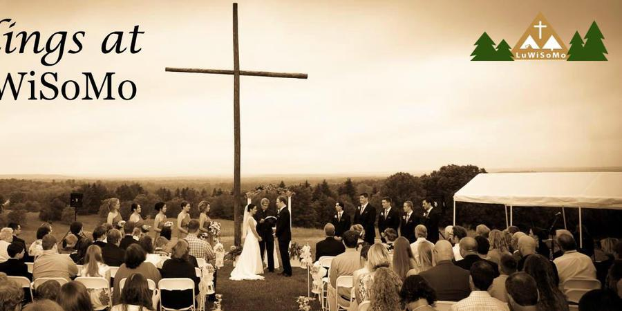 Camp Luwisomo wedding Green Bay