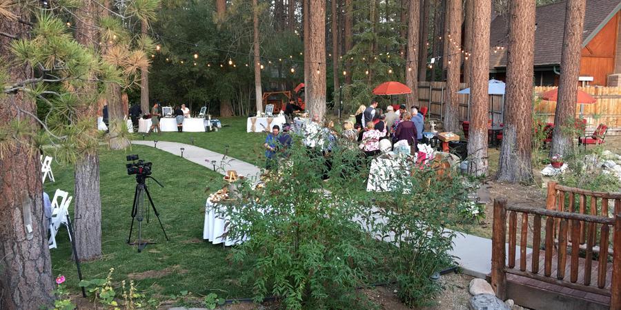 Alpenhorn Bed & Breakfast Inn wedding Inland Empire
