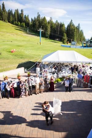 Brundage Mountain Resort wedding Idaho