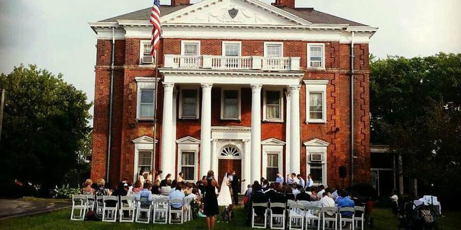 Barnes Hiscock Mansion wedding Finger Lakes