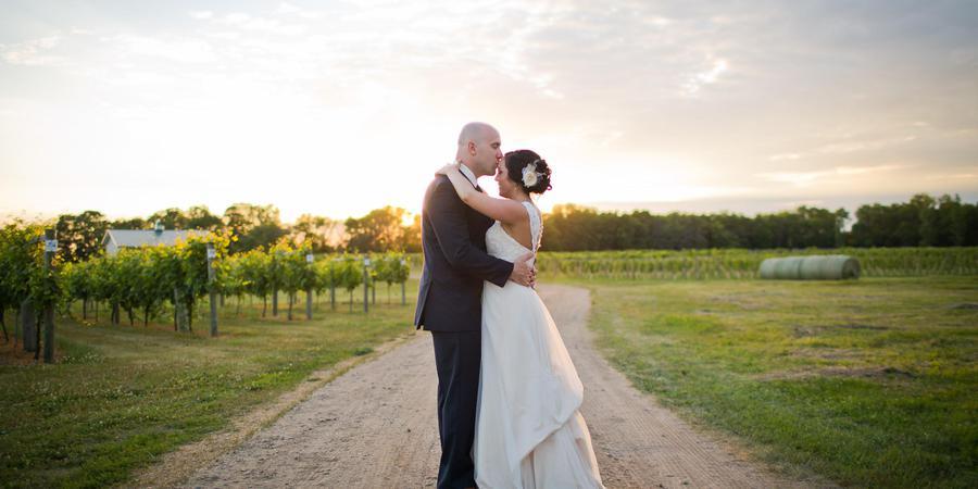 Carlos Creek Winery wedding Minnesota