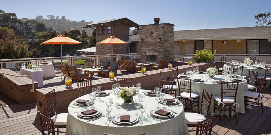 The Lodge at Tiburon wedding Marin