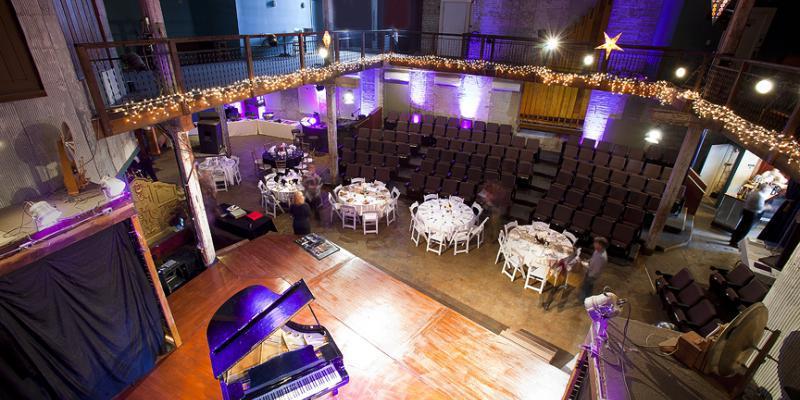 The Acorn Theater wedding Kalamazoo