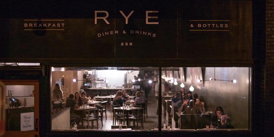 RYE Diner & Drinks wedding Salt Lake City
