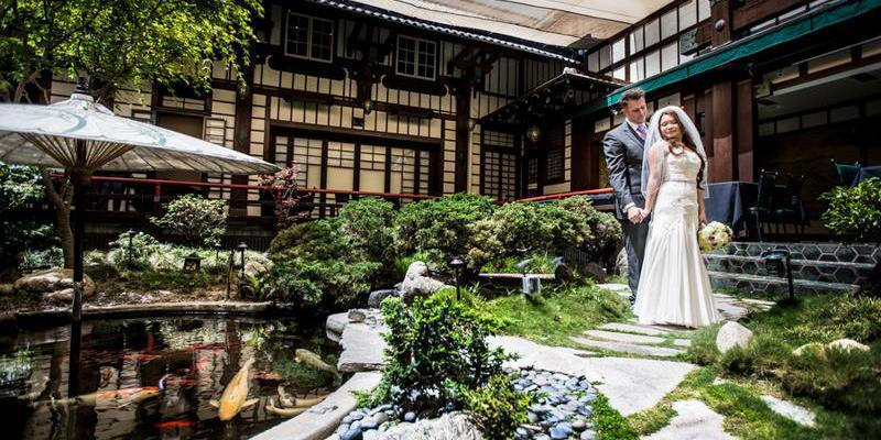 Yamashiro Hollywood wedding Los Angeles